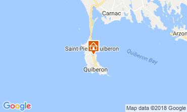 Karte Quiberon Haus 114594
