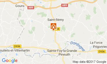 Karte Bergerac Ferienunterkunft auf dem Land 112030
