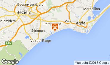Karte Portiragnes Haus 96400