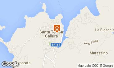 Karte Santa Teresa di Gallura Appartement 98963