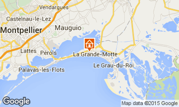 Karte La Grande Motte Studio 31444