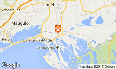 Karte Aigues Mortes Ferienunterkunft auf dem Land 72381
