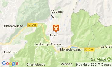 Karte Alpe d'Huez Studio 93111