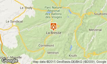 Karte La Bresse Hohneck Appartement 4537