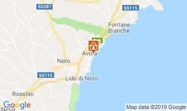 Karte Avola Außergewöhnliche Unterkunft 109962