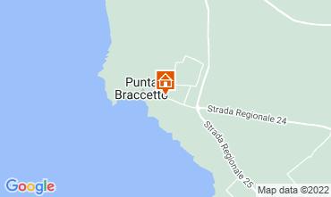 Karte Punta Secca Appartement 79868
