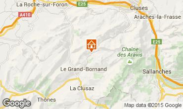 Karte Le Grand Bornand Chalet 94809