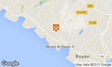 Karte Vaux sur Mer Appartement 91661