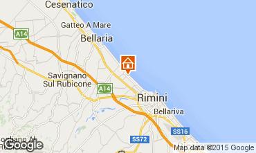 Karte Rimini Appartement 92548