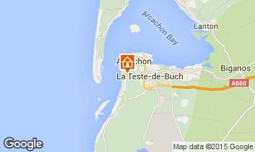 Karte Arcachon Haus 83818