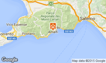 Karte Amalfi Appartement 25118