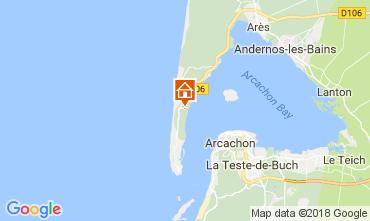 Karte Cap Ferret Villa 36556