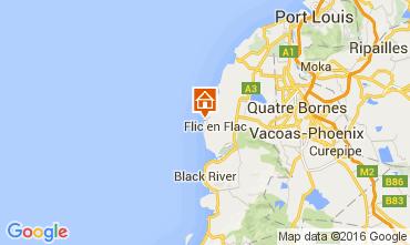 Karte Flic-en-Flac Appartement 36851