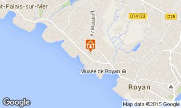 Karte Royan Appartement 68733