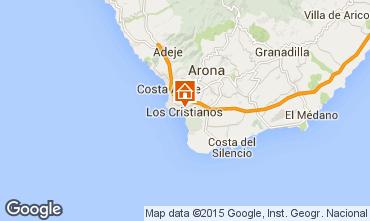 Karte Los Cristianos Appartement 88879