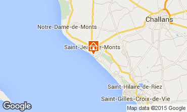 Karte Saint Jean de Monts Appartement 50925
