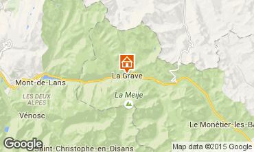 Karte La Grave - La Meije Appartement 33175