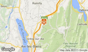 Karte Annecy Ferienunterkunft auf dem Land 51624