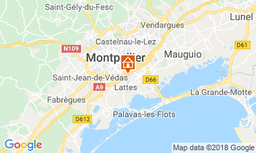 Karte Montpellier Villa 116627