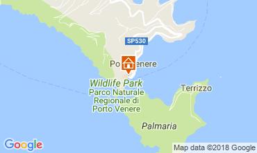 Karte Portovenere Appartement 46038