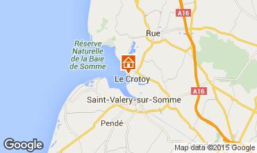 Karte Le Crotoy Haus 78797
