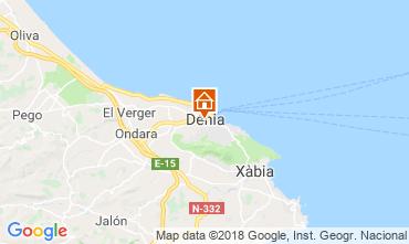 Karte Dénia Appartement 114262