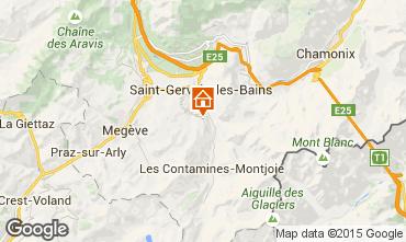 Karte Saint-Gervais-les-Bains Chalet 2571