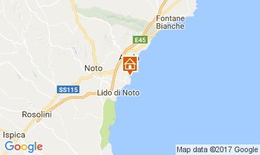 Karte Avola Villa 110884