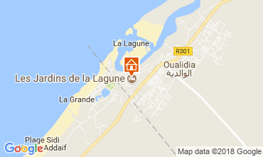 Karte Oualidia Villa 115583