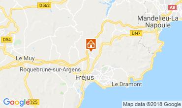 Karte Fréjus Villa 109566