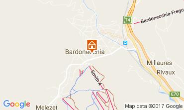 Karte Bardonecchia Appartement 108545