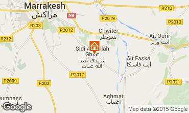 Karte Marrakesch Haus 61943