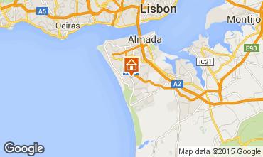 Karte Lissabon Villa 55207