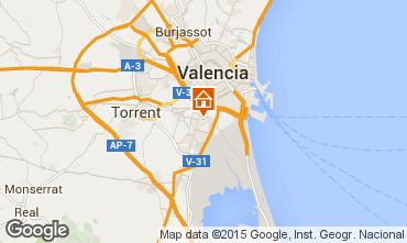Karte Valencia Appartement 8181