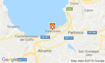 Karte Balestrate Appartement 53262