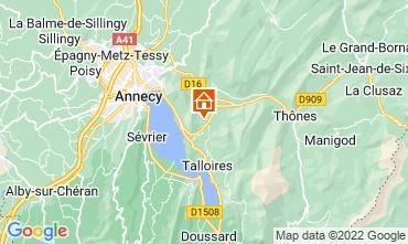 Karte Annecy Appartement 67836