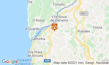 Karte Vila Nova de Cerveira Villa 106443