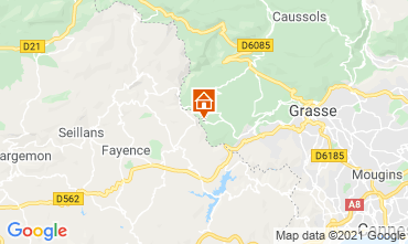Karte Grasse Villa 111723