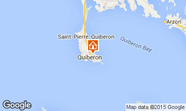 Karte Quiberon Haus 52538