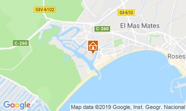 Karte Rosas Appartement 114884