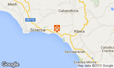 Karte Sciacca Appartement 78292
