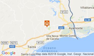 Karte Tavira Villa 113823
