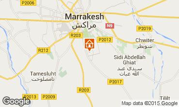 Karte Marrakesch Villa 94102