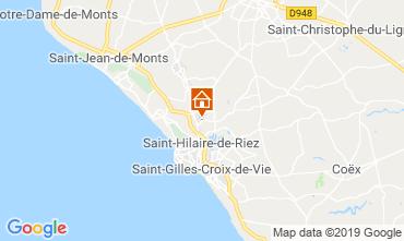 Karte Saint Hilaire de Riez Mobil-Home 118171