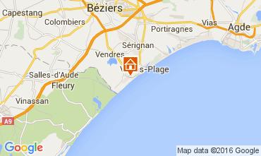 Karte Valras-Plage Haus 103952