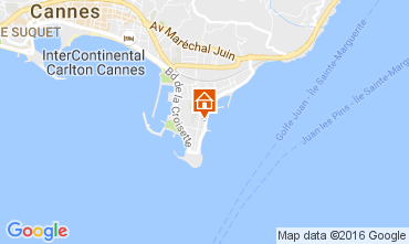 Karte Cannes Appartement 107260