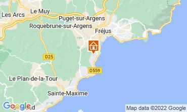Karte Les Menuires Chalet 73309