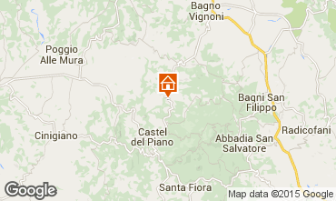 Karte Montalcino Haus 14841
