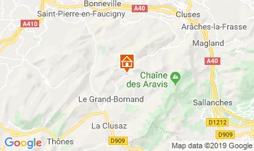 Karte Le Grand Bornand Appartement 117644