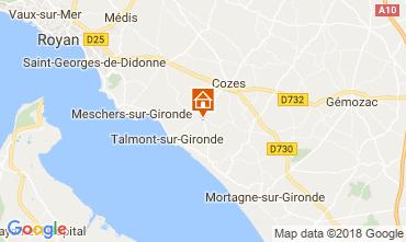 Karte Saint Georges de Didonne Haus 114590
